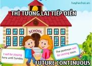 Thì tương lai tiếp diễn, cách dùng và bài tập áp dụng - The Future Continuous